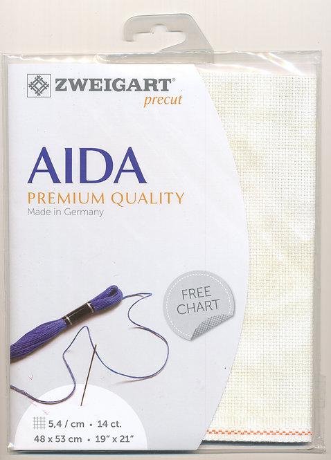 Zweigart 3706/1019 Precut Vintage Aida