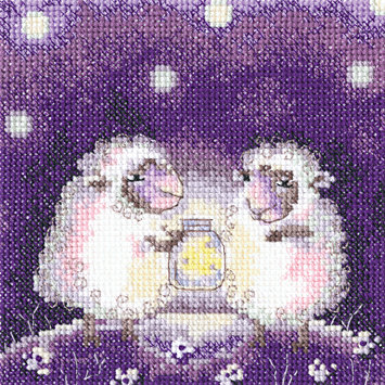 "RTO C238 Cross-stitch kit ""This star is for you?K"""