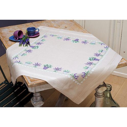 Vervaco PN-0165238 tablecloth kit lavender