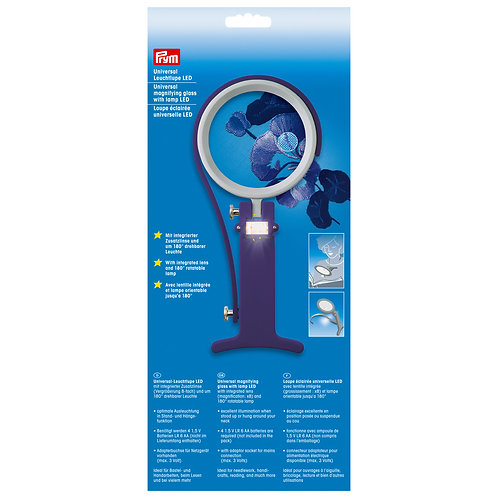 Prym PR610380 Universal magnifying glass LED