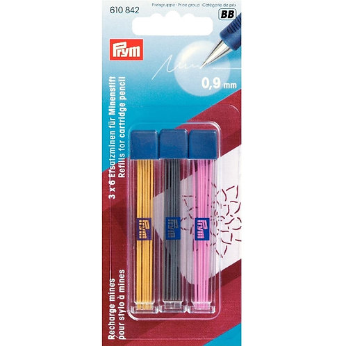 Prym PR610842 Refills for Cartridge Pencil