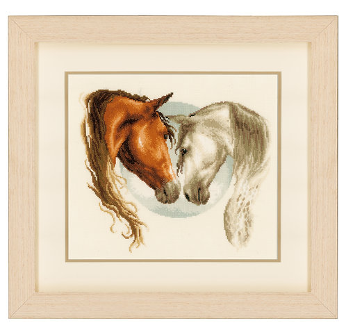Vervaco PN-0145112 Cntd Cross Stitch K Equine Love counted fabric