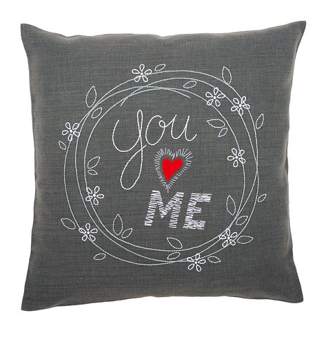 "Vervaco PN-0156053 Embroidery Cushion ""You and Me"""