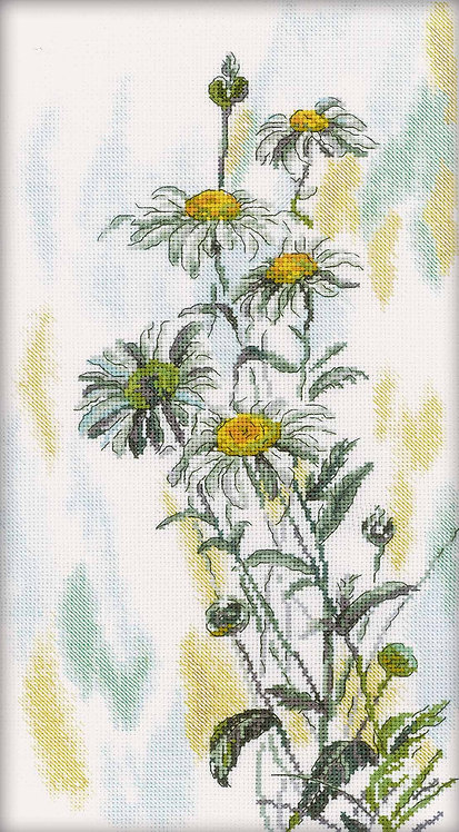 "RTO M261 Cross-stitch kit ""Tender Daisies"""
