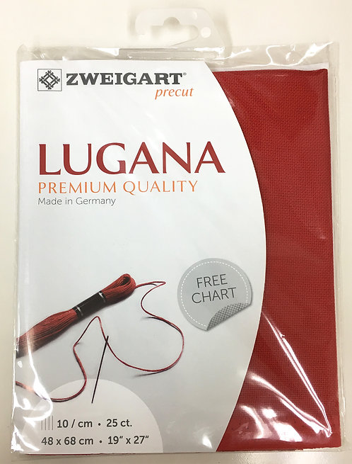 Zweigart 3835/954 Precut Lugana