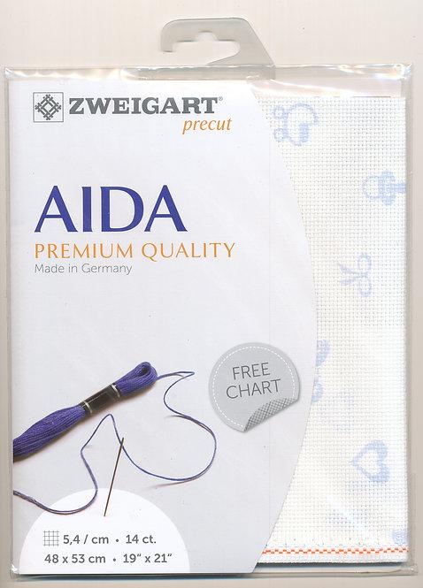Zweigart 3706/5289 Precut Baby Aida