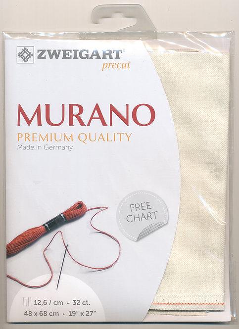 Zweigart 3984/99 Precut Murano Lugana