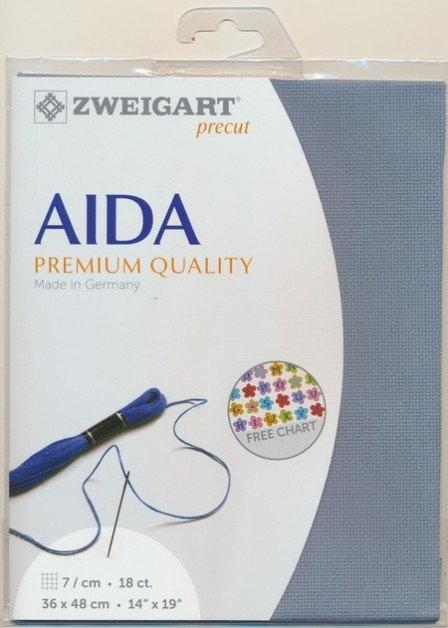 Zweigart 3793/5020 Precut Fein-Aida 18 ct.