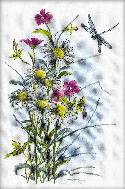 "RTO M259 Cross-stitch kit ""Meadow in summer"""
