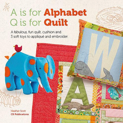 A for Alphabet, Q for Quilt