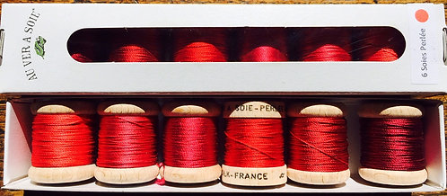 AU VER A SOIE PACK 6 NUANCES Silk Thread
