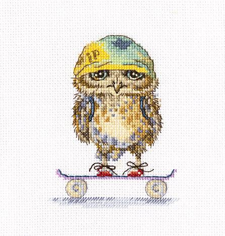 """RTO C224 Cross-stitch kit """"Skater"""""""