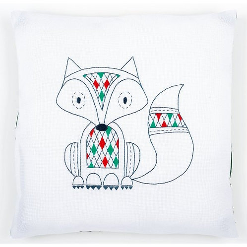 "Vervaco PN-0155312 Embroidery Cushion ""Fox"""