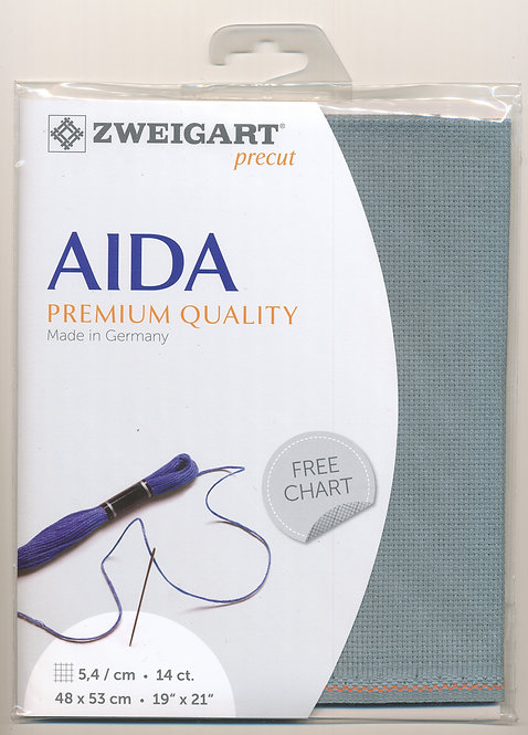 Zweigart 3706/594 Precut Stern-Aida