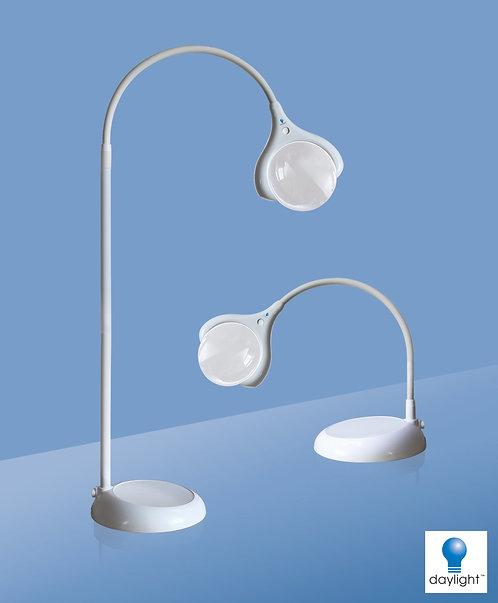 Daylight D25050 MAGnificent Floor & Table LED Magnifying Lamp