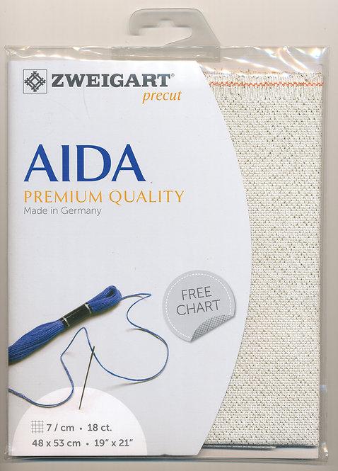 Zweigart 3793/118 Precut Fein-Aida 18 ct.