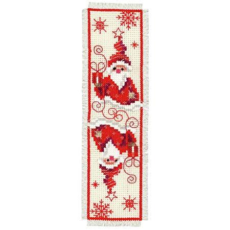 Vervaco PN-0148033 Bookmark Christmas Gnome I aida