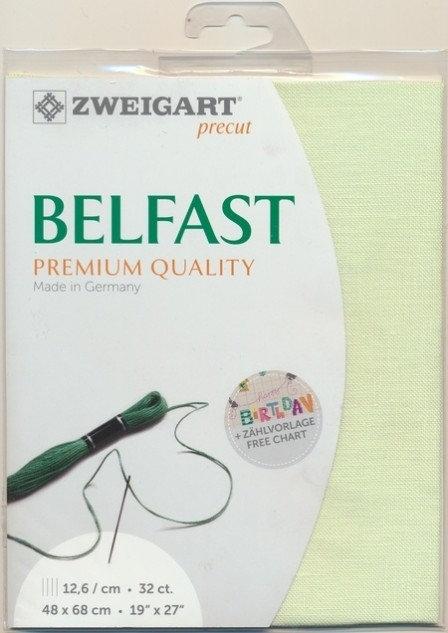 Zweigart 3609/6121 Precut Belfast