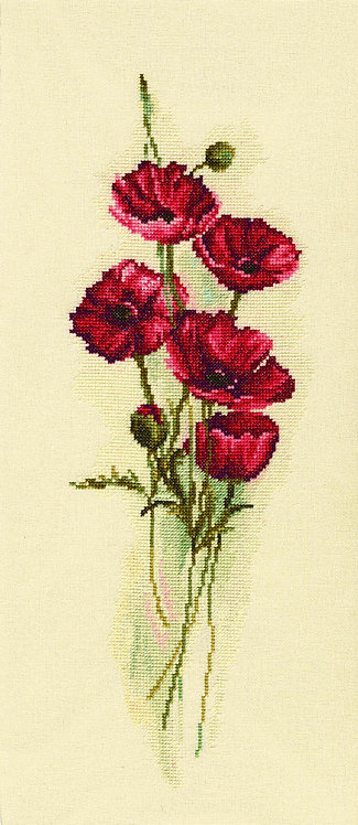 "RTO M449 Cross-stitch kit ""Oriental Poppies"""