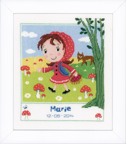 Vervaco PN-0149425 Cntd Cross Stitch Little Red Riding Hood aida