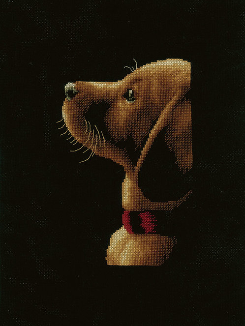 "Vervaco PN-0154730 Cross Stitch Kit ""Labrador"""