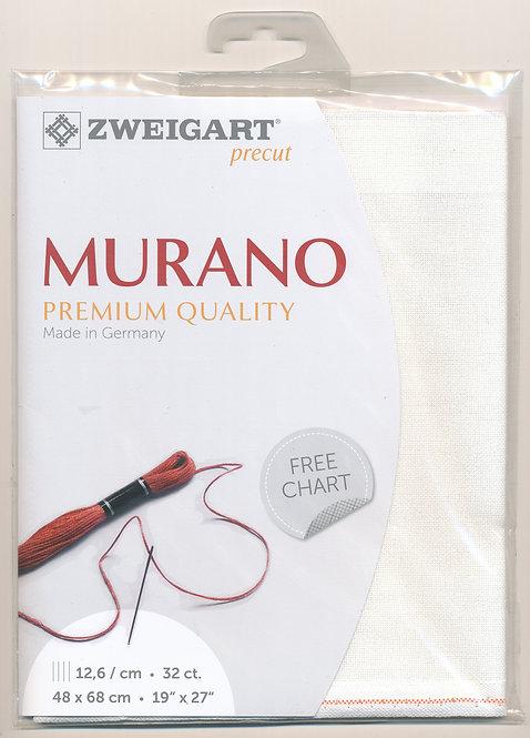 Zweigart 3984/101 Precut Murano Lugana