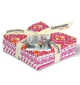 Gutermann G646024-3 'French Cottage' Fat Quarter Bundles