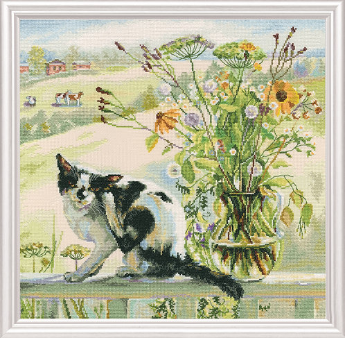 "RTO M485 Cross-stitch kit ""Morning in the country"""