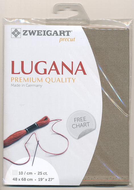 Zweigart 3835/7025 Precut Lugana