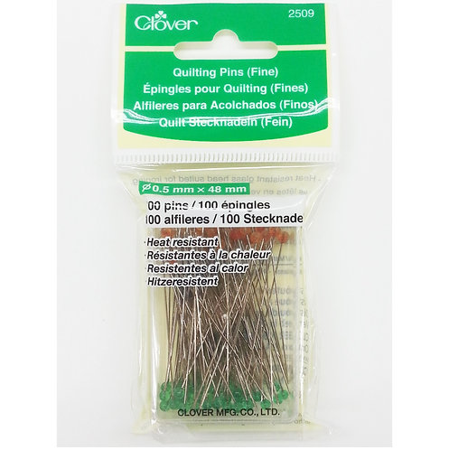 CLOVER CL/2509 Quilting Needle (Fine)