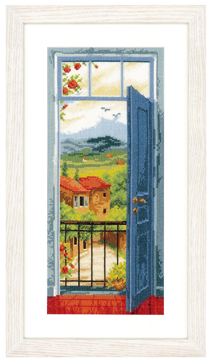 Vervaco PN-0021690 Counted Cross Stitch Kit View on Toscane aida