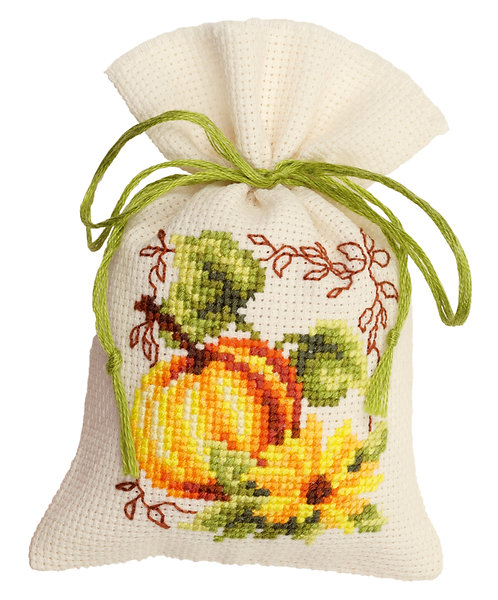 Vervaco PN-0021663 Potpourri Bag Pumpkin aida