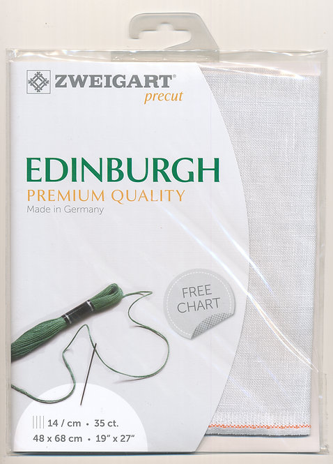 Zweigart 3217/7011 Precut Edinburgh