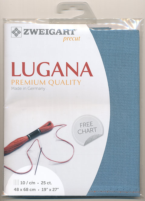 Zweigart 3835/5116 Precut Lugana