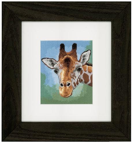 Vervaco PN-0149306 Counted Cross Stitch Kit Giraffe aida
