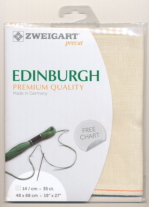 Zweigart 3217/222 Precut Edinburgh