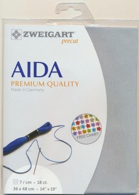 Zweigart 3793/5018 Precut Fein-Aida 18 ct.