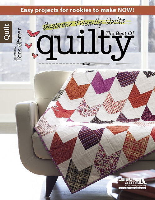 Beginner-Friendly Quilts: The Best of Quilty