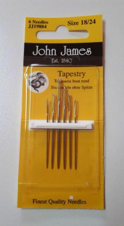 John James Needles JJ19884 Tapestry Size 18/24