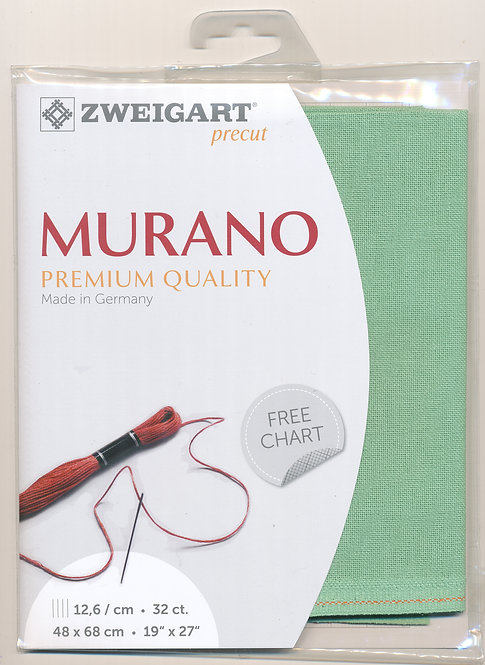 Zweigart 3984/6092 Precut Murano Lugana