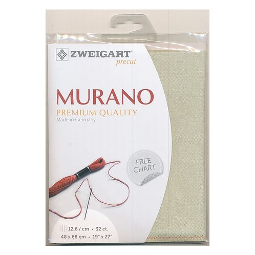 Zweigart 3984/6047 Precut Murano Lugana