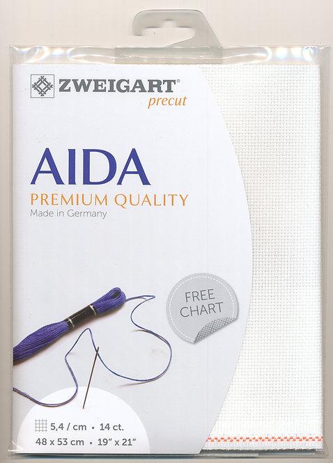 Zweigart 3706/101 Precut Stern-Aida