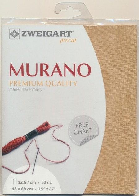 Zweigart 3984/3009 Precut Vintage Murano Lugana