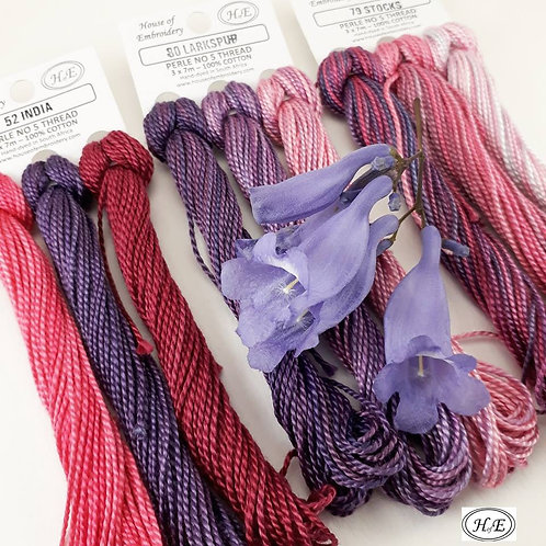 House of Embroidery Perle Thread No. 5 (61-90)