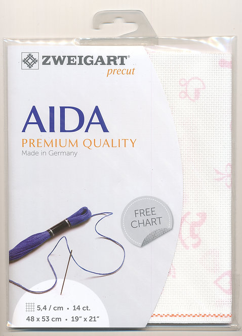 Zweigart 3706/4249 Precut Baby Aida