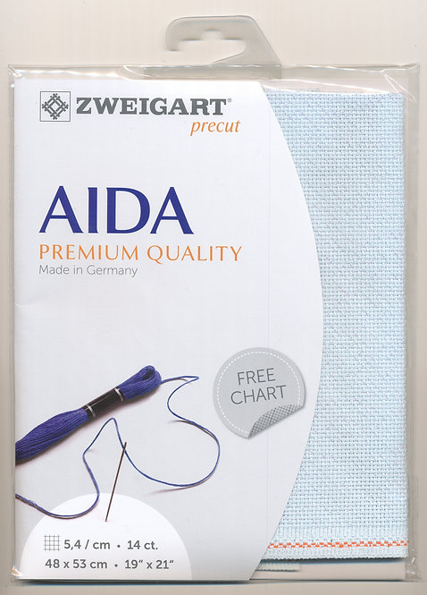 Zweigart 3706/5169 Precut Aida-Star