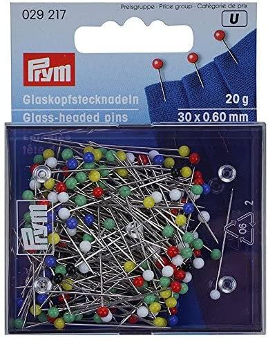 Prym029217 Glass-headed Pins
