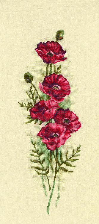 "RTO M450 Cross-stitch kit ""Oriental Poppies"""