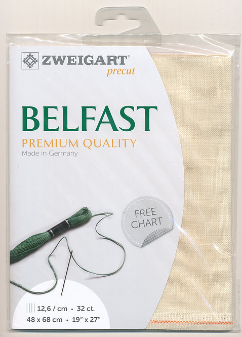 Zweigart 3609/222 Precut Belfast