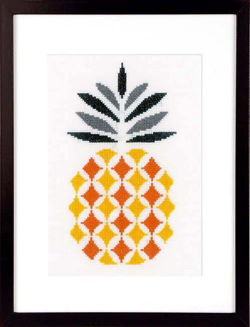 "Vervaco PN-0156112 Cross Stitch Kit ""Pineapple"""